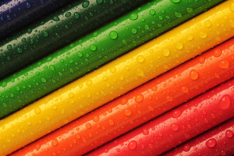psicologia del colore scrivere menù