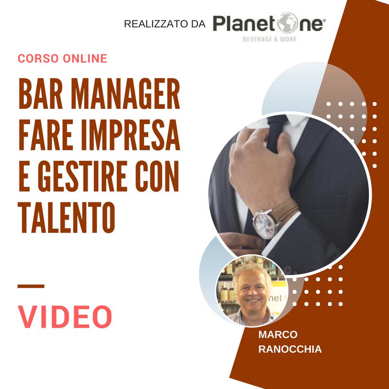 Bar Manager fare impresa e gestire con talento